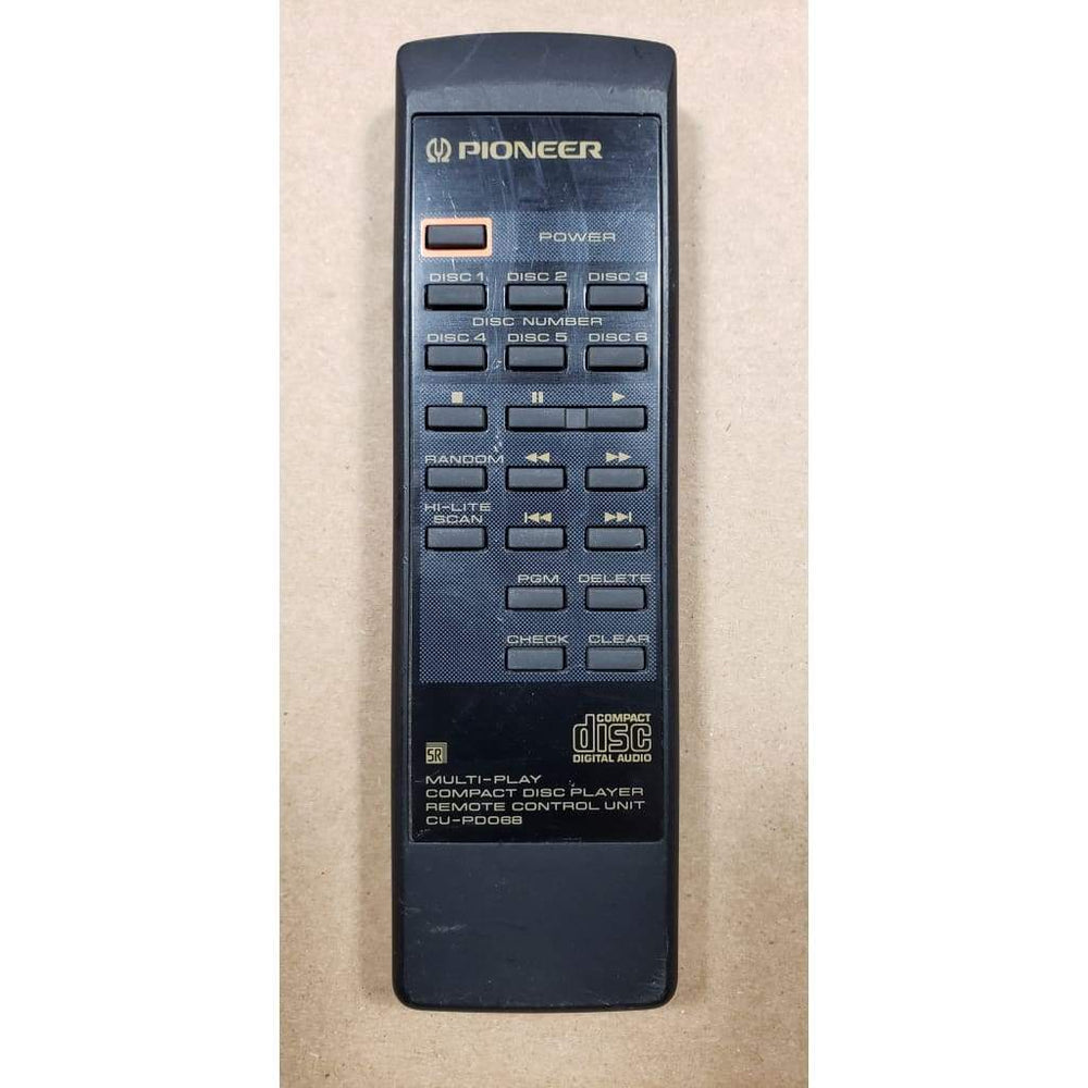 Pioneer CU-PD068 Audio Remote for PDM423 PDM425/RDXJ PDM425/WPWXJ PDM426 PDM426/2 PDM426/WPWXJ/2 PDM42601 PWW1089 - Remote Controls