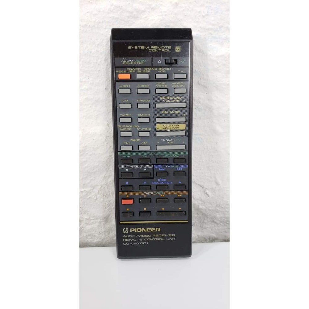 Pioneer CU-VSX001 Audio Video Remote for VSX4000 VSX4000BK VSX5000 - Remote Control