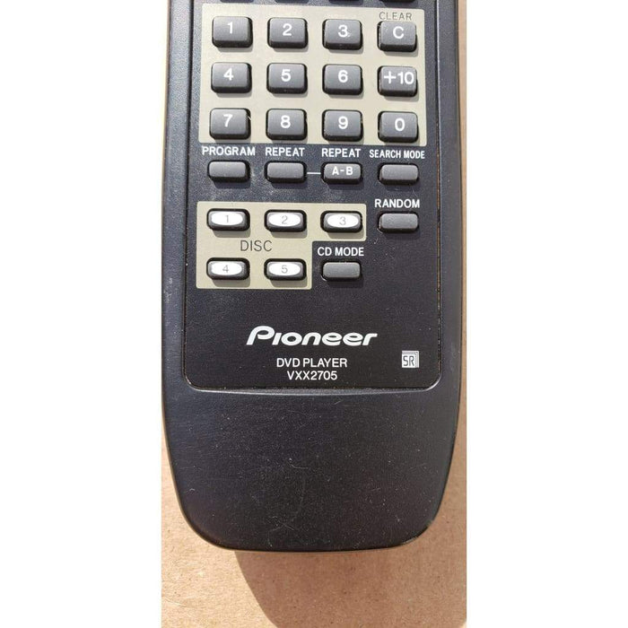 Pioneer VXX2705 DVD Player Remote Control - Remote Controls