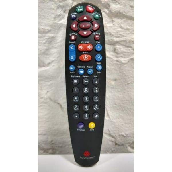 Polycom VSX-5000 VSX-6000 VSX-7000 VSX-8000 Video Conference Remote Control - Conference Equipment