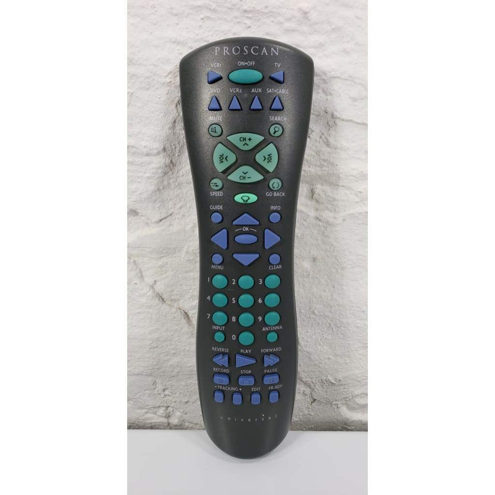 Proscan CRK76VBL1 Universal Light-Up Remote Control - Remote Control