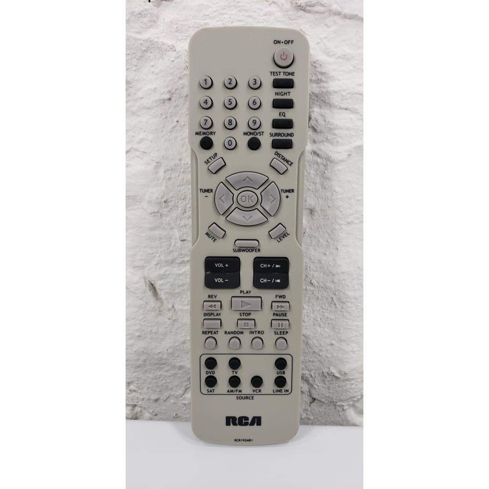 RCA RCR192AB1 Home Theater Remote Control for RT2760 RT2770 RT2870 - Remote Control