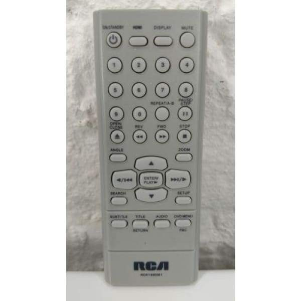 RCA RCR198DB1 DVD Remote for DRC279 DRC282 DRC275 DRC275A DRC277 DRC277A - Remote Controls