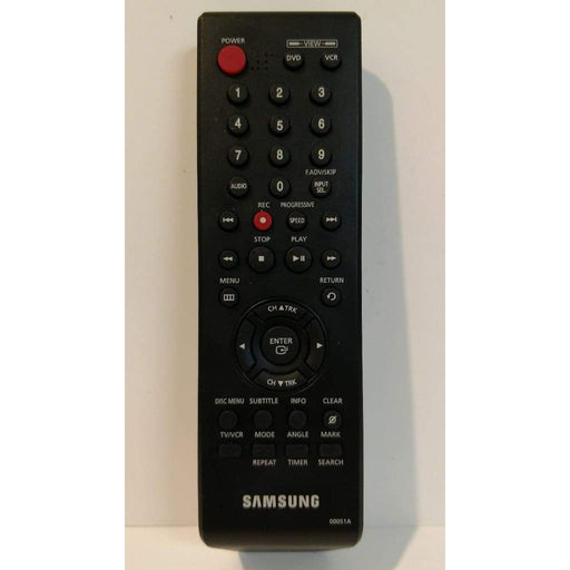 Samsung 00051A Remote for DVD VCR DV5600 DVDV5650 DVDV6700 DVDV6800 DVDV4600 - Remote Controls