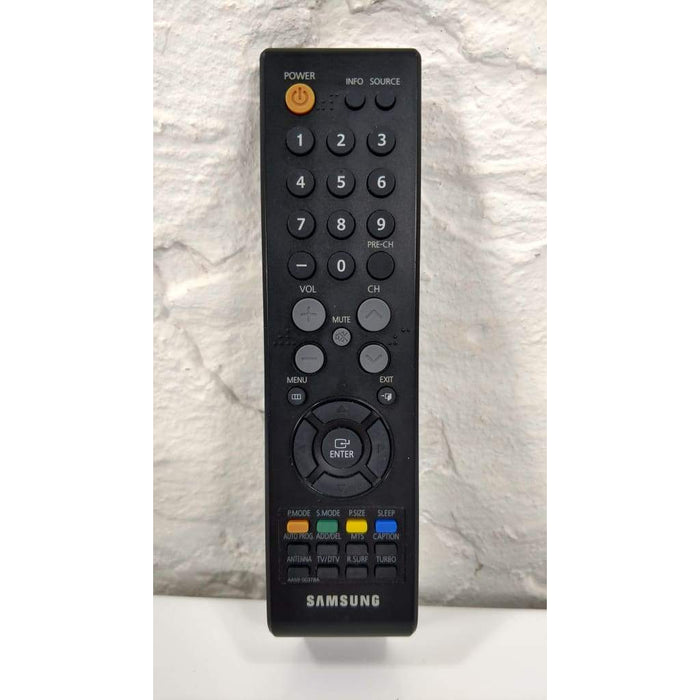 Samsung AA59-00378A TV Remote for TXS2783X TXS2783X/XAA 245BW TXS2783 CL29Z40MQ - Remote Controls