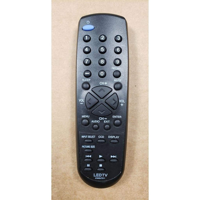 Sansui Orion 076K0UT011 LED TV Remote Control - Remote Control