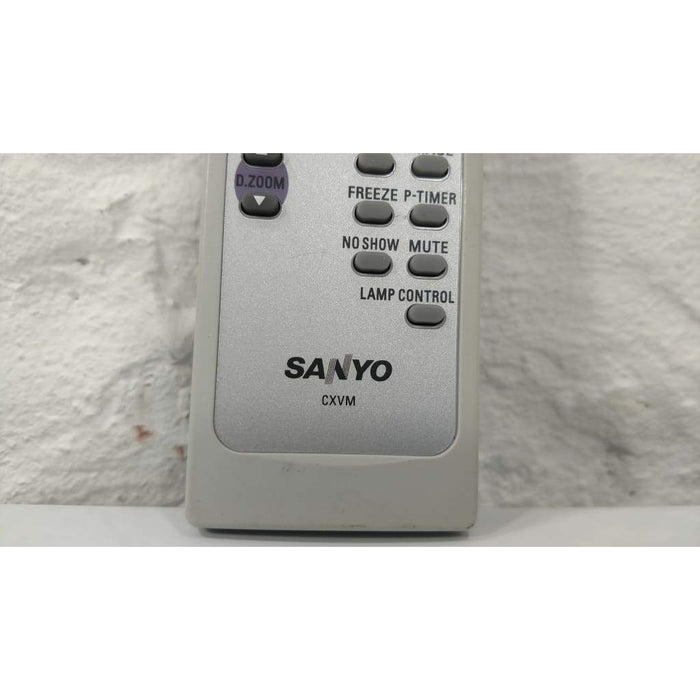 Sanyo CXVM LCD Projector Remote Control for PLCXU78 PLCXU101 PLCXU105 - Remote Control