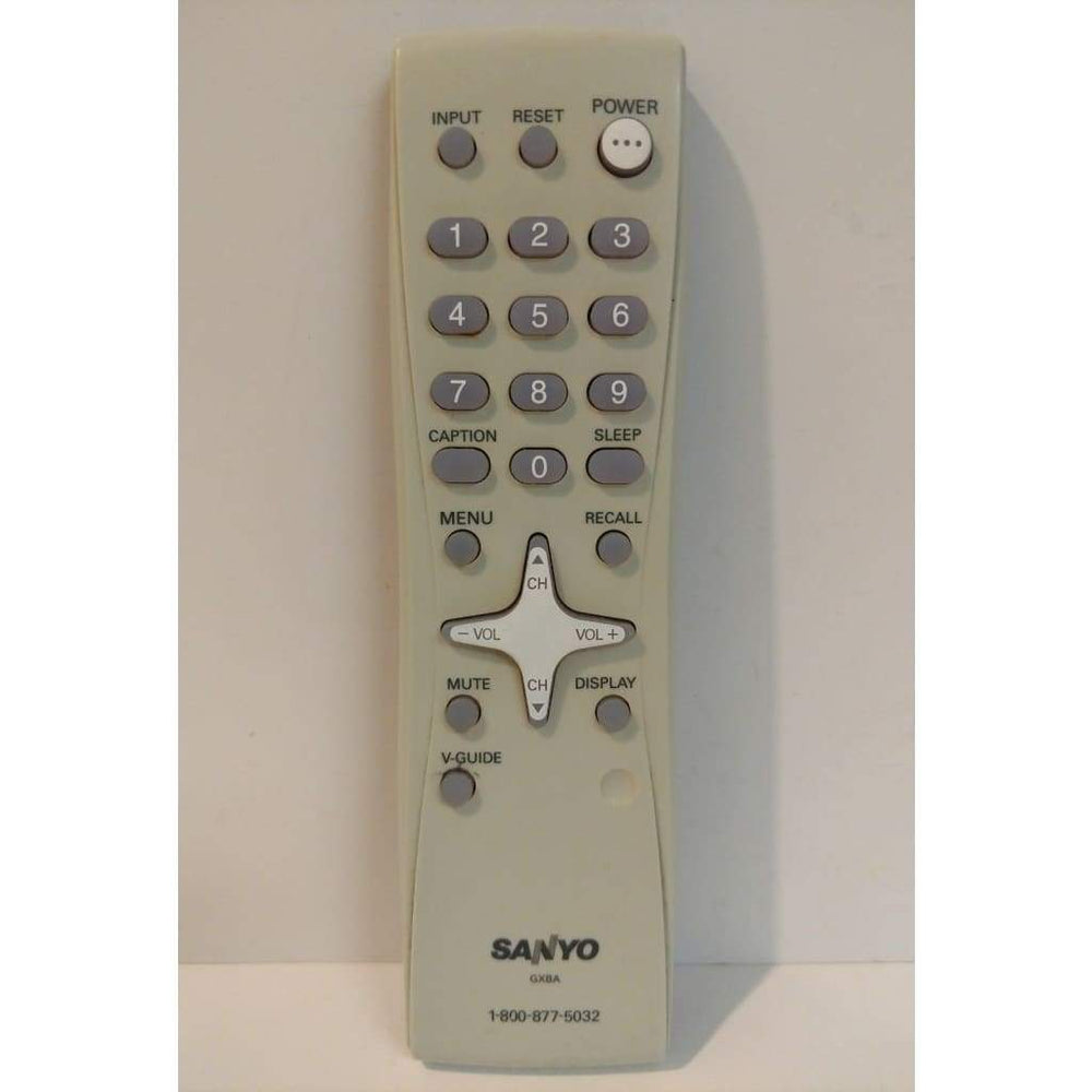 Sanyo GXBA LCD TV Remote Control for DS24425 DS27225 DS27425 DS32225 - Remote Controls