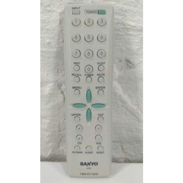 Sanyo GXBC LVD TV Remote for HT27546 HT27547 HT32546 SVD2317 DP42746 - Remote Controls
