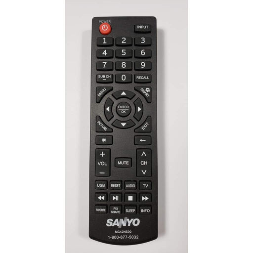 Sanyo MC42NS00 TV Remote Control - Remote Control