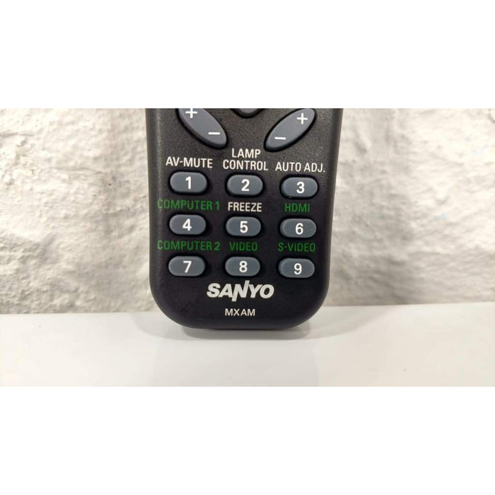 SANYO MXAM Projector Remote Control for PDG-DXL100 PDG-DWL100 - Remote Control