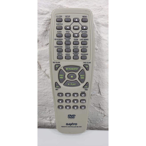 Sanyo RB-7201 DVD Remote Control for DWM370 - Remote Control