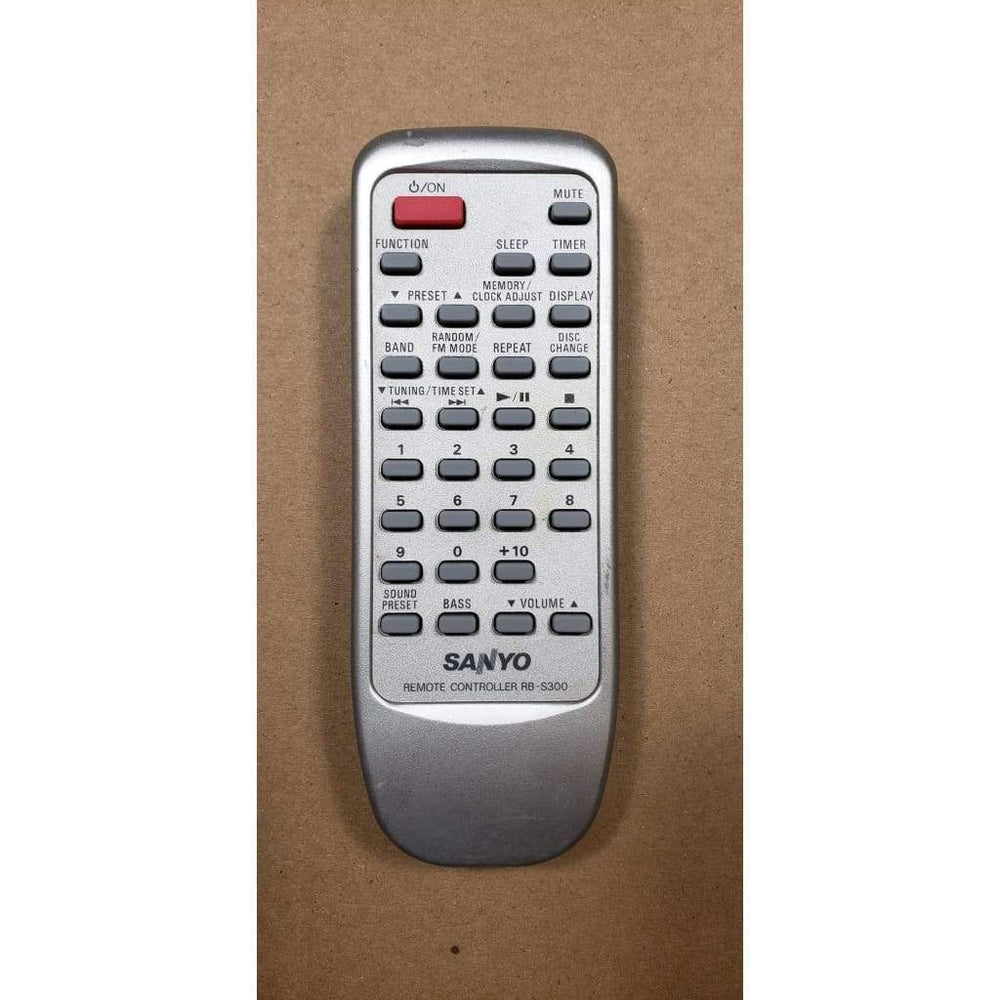 Sanyo RB-S300 Audio Remote Control - Remote Controls