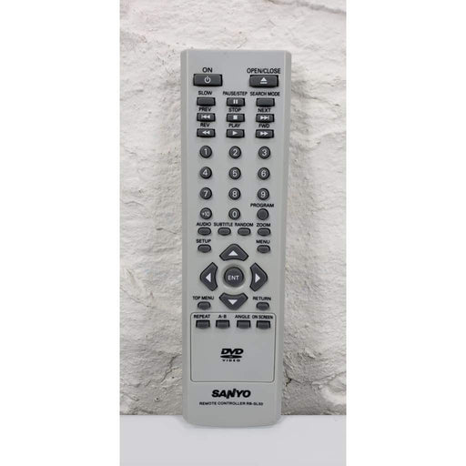 Sanyo RB-SL50 DVD Remote Control for DVD-SL22 DVD-SL33 DWM-396 - Remote Control