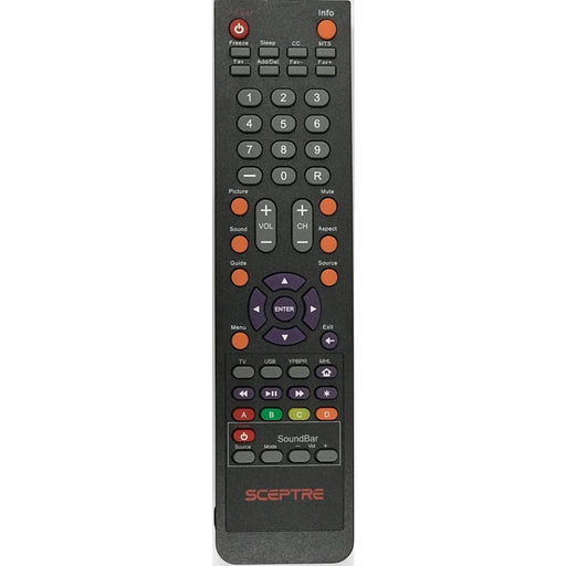 Sceptre 142022370010C TV Remote Control