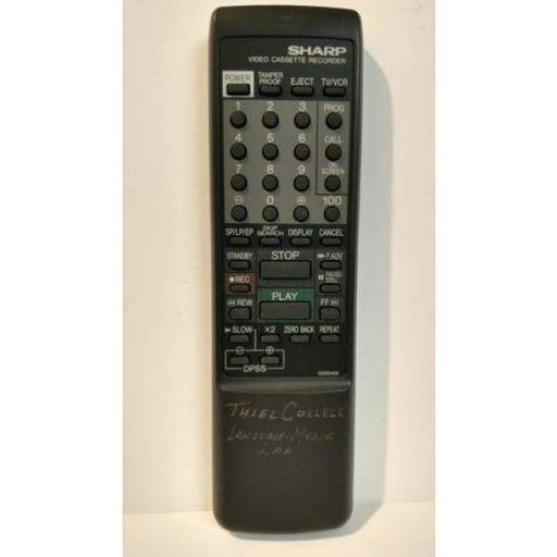 Sharp G0824GE VCR Remote for XA405 VCA45U G0824GE VCA46U XA410 - Remote Controls