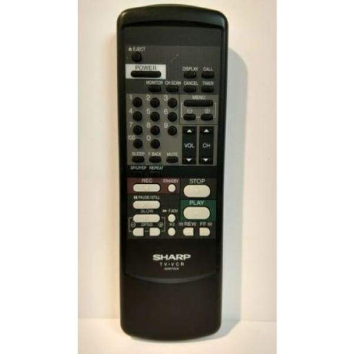 Sharp G0872CE VCR Remote Control - Remote Controls