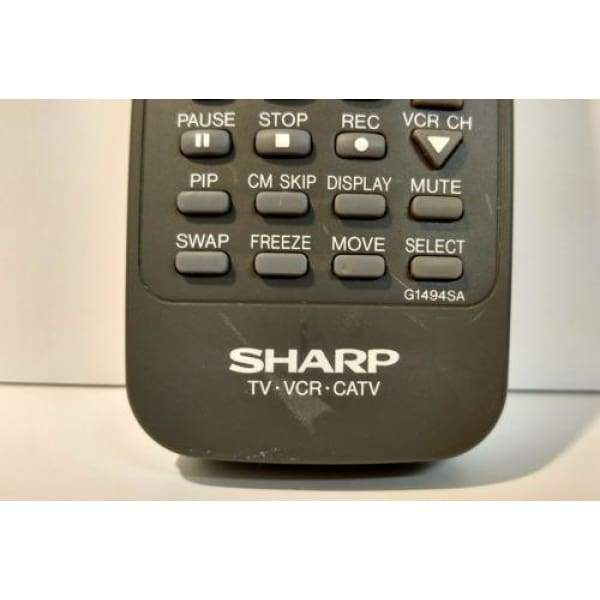 Sharp G1494SA Remote for 27LS500 32LS500 32NS500 - Remote Controls
