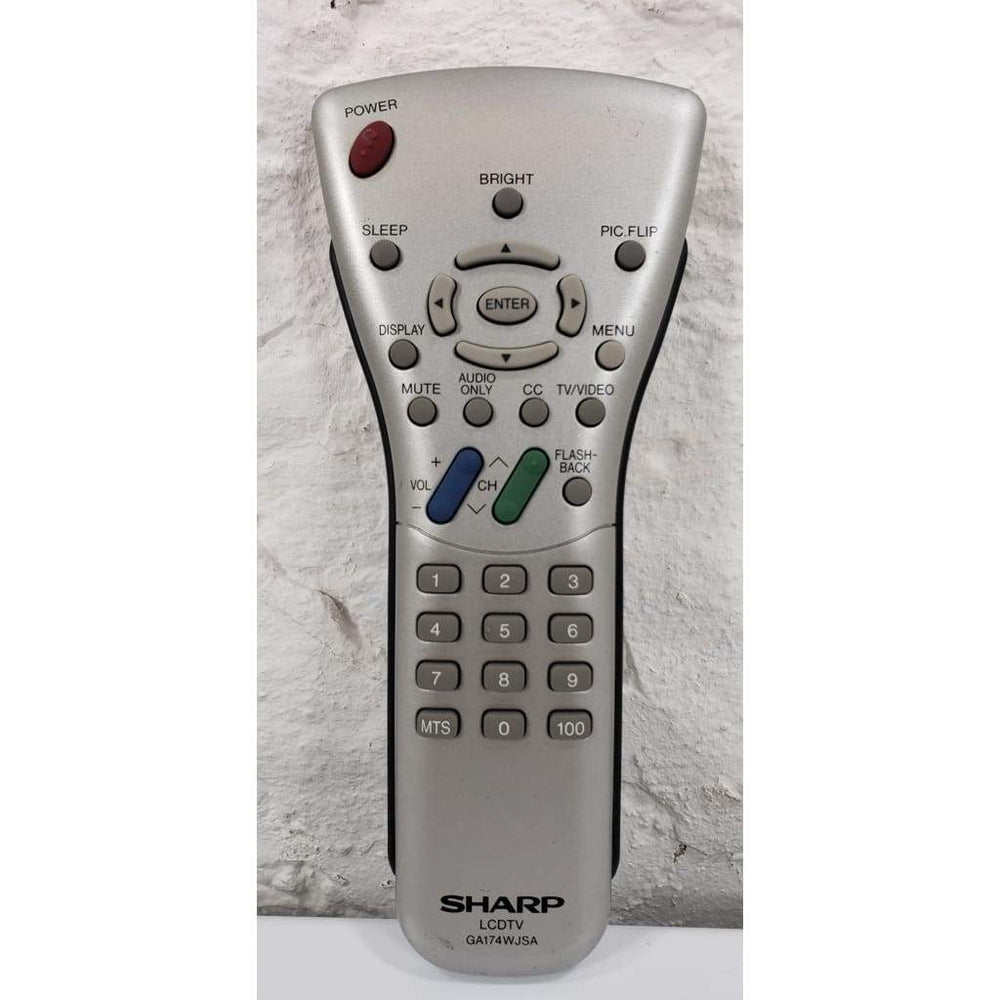SHARP GA174WJSA TV Remote Control for LC20S1US LC20S2US LC20S2U LC20S2US - Remote Control