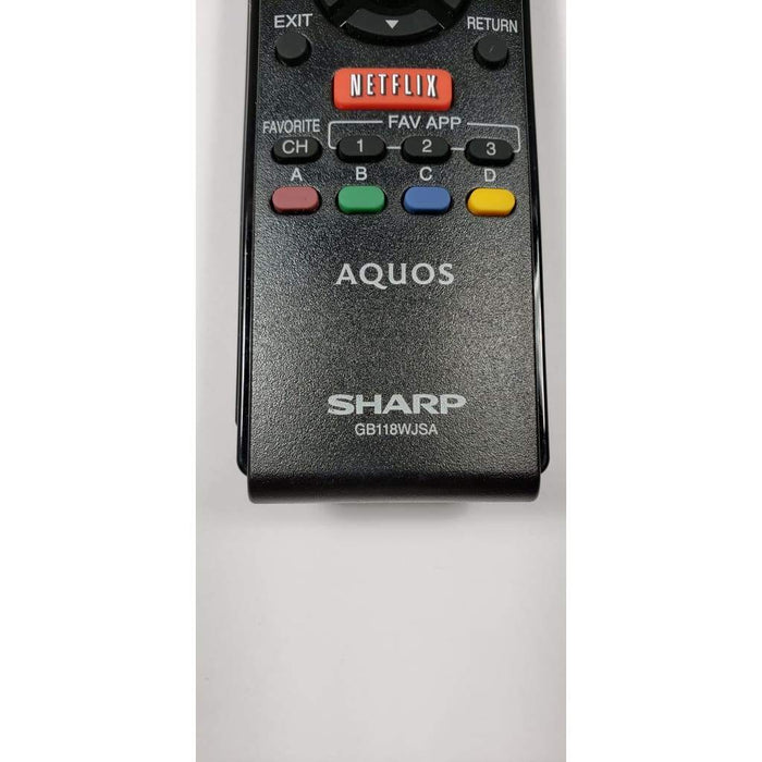 Sharp GB118WJSA TV Remote Control - Remote Control