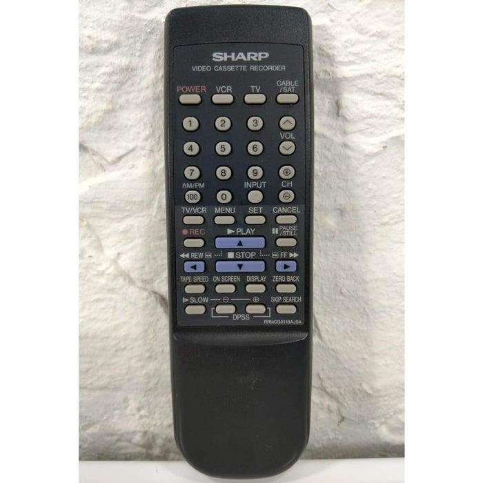 Sharp RRMCG0118AJSA VCR Remote Control for VCA353 VCA552U VCH953U - Remote Controls
