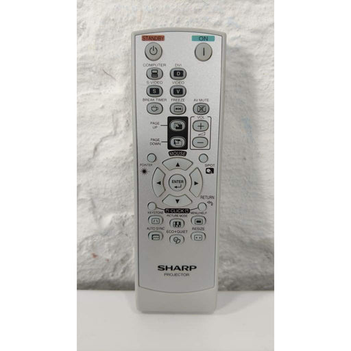 Sharp RRMCGA581WJSA Projector Remote for PGF200X XGF210X XR30S etc - Remote Controls