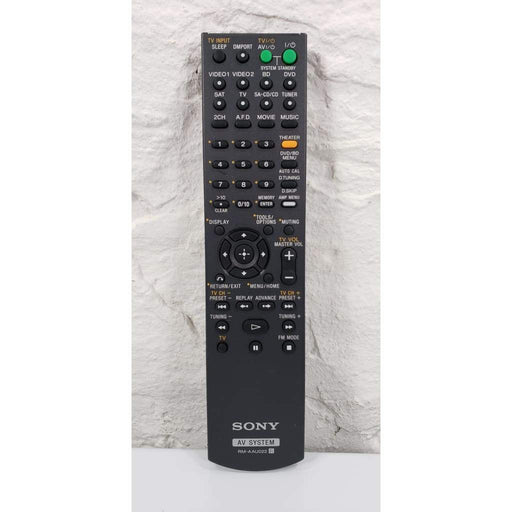 Sony RM-AAU022 AV System Remote for STR-DG520 HT-SF2300 HT-SS2300 - Remote Control