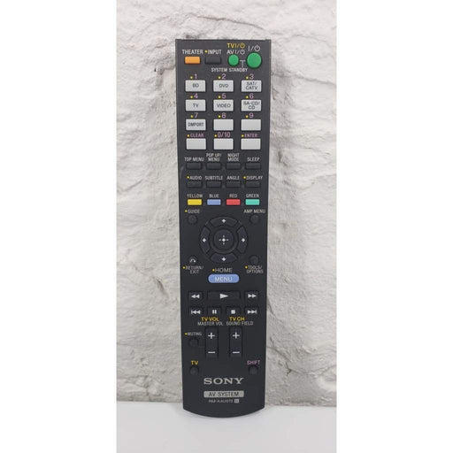 Sony RM-AAU072 AV System Remote for HTC-T150 HTC-T150HP HT-CT150 HT-CT150HP - Remote Control