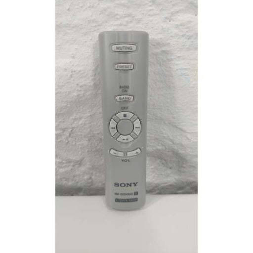 Sony RM-CD543A2 Kitchen Radio Magnetic Remote Control - Remote Control