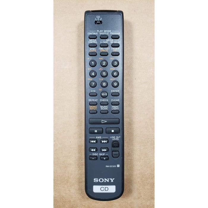 Sony RM-DC525 CD Player Remote Control
