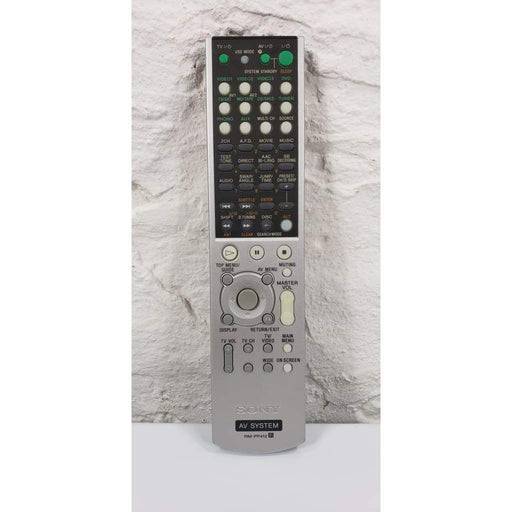 Sony RM-PP412 AV System Audio Remote Control - Remote Control