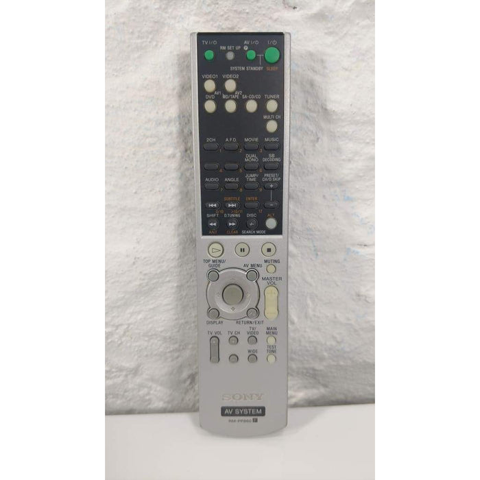 Sony RM-PP860 AV Receiver Remote Control - Remote Control