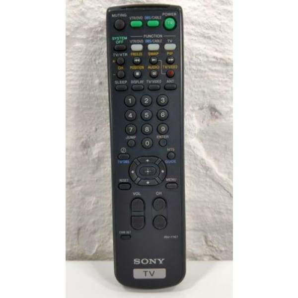 Sony RM-Y167 TV Remote Control for KV-36FV1 KV-27S45 KV-32FV1 KV-35S45 - Remote Controls