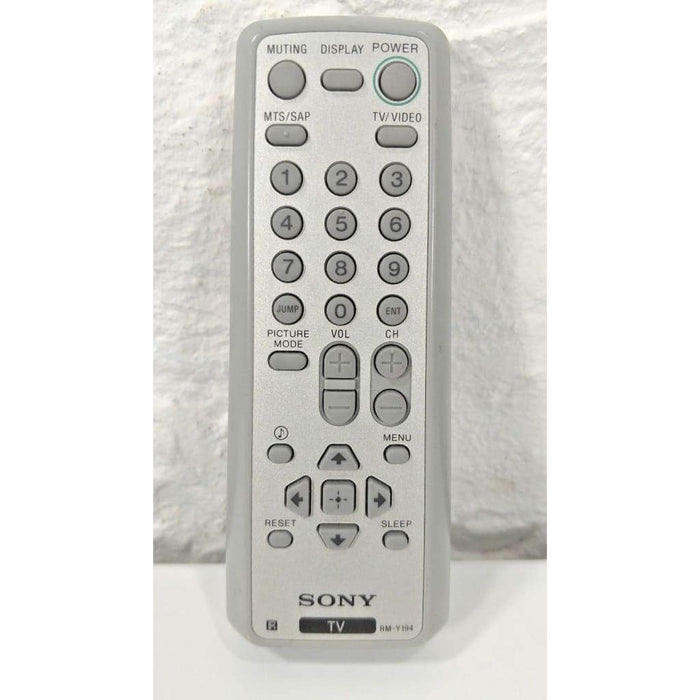 Sony RM-Y194 TV Remote Control for KV-20FS120 KV-21FS120 KV-24FS120 etc - Remote Controls