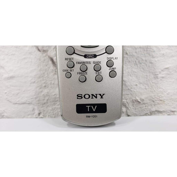 Sony RM-Y201 TV Remote Control for KD34XBR960 KD34XBR960N KF60DX - Remote Control