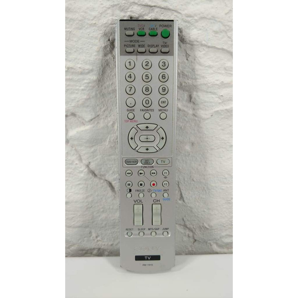 Sony RM-Y915 TV Remote Control for KDF-42WE655 KDF-50WE655 KDF-55WF655 60WF655 - Remote Controls