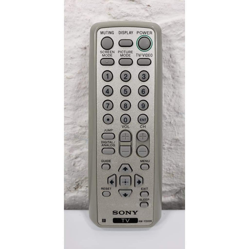 Sony RM-YD006 TV Remote for KD-27FS170 KD-32FS170 KD-36FS170 - Remote Control