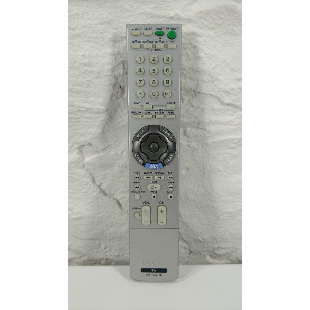 Sony RM-YD010 TV Remote Control for KDF-42E2000 KDF-46E2000 KDF-50E2000 - Remote Controls