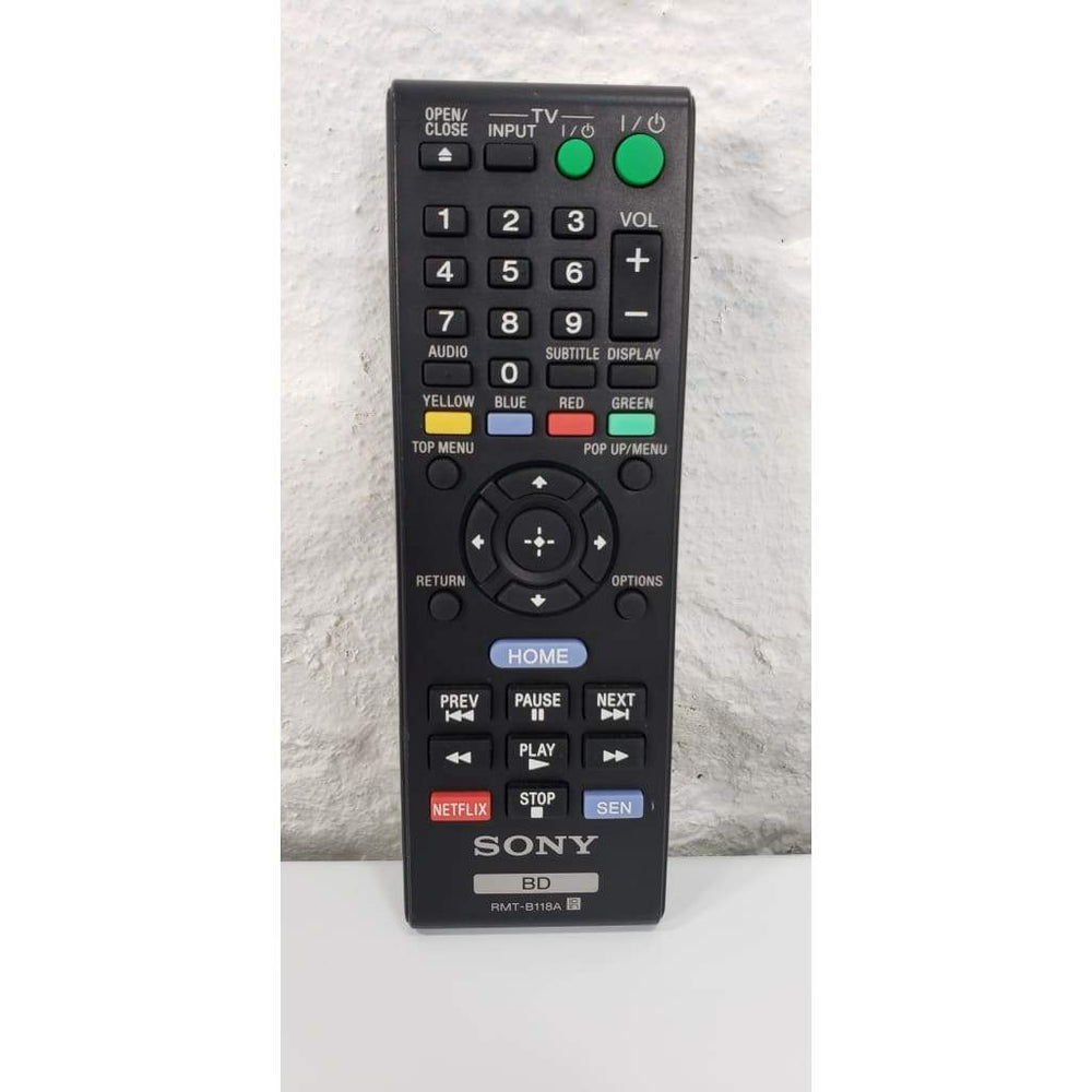 Sony RMT-B118A DVD Blu-Ray Player Remote Control for BDP-BX58 BDP-BX38 - Remote Control