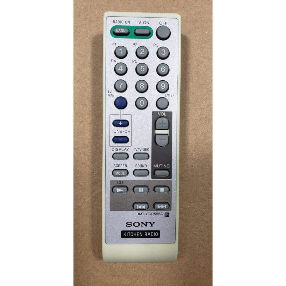 Sony RMT-CCD555A Under Counter Radio Remote Control - Remote Controls