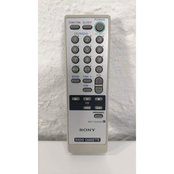 Sony RMT-CS350A Portable Stereo Remote Control for CFD-S350 - Remote Control