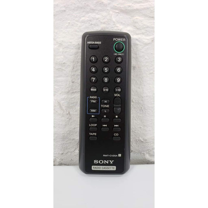 Sony RMT-CV25A Audio Remote Control for CFDV25 - Remote Control