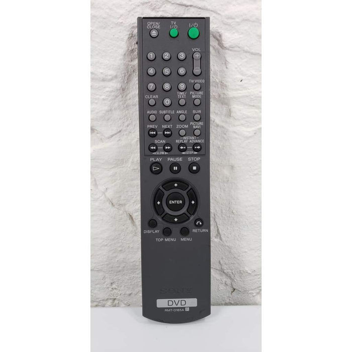 Sony RMT-D165A DVD Remote Control for DVP-NS501 DVP-NS575 etc - Remote Control