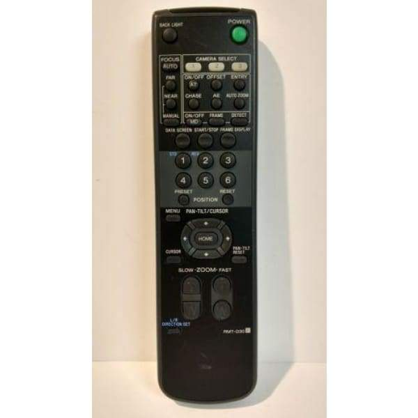 Sony RMT-D30 EVI-D30 Security Camera Remote Control - Remote Controls