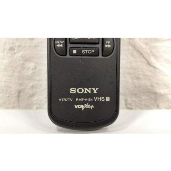 Sony RMT-V154 VCR Remote for RMTV154 SL380 SLV340 SLV380 SLV440 etc. - Remote Controls