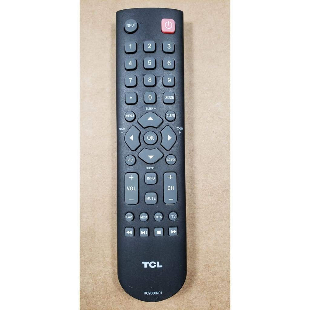 TCL RC2000N01 TV Remote Control