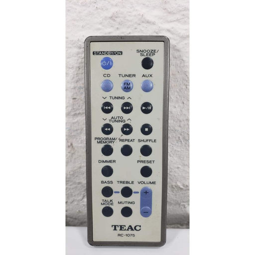 TEAC RC-1075 Audio Player Remote Control - Remote Control