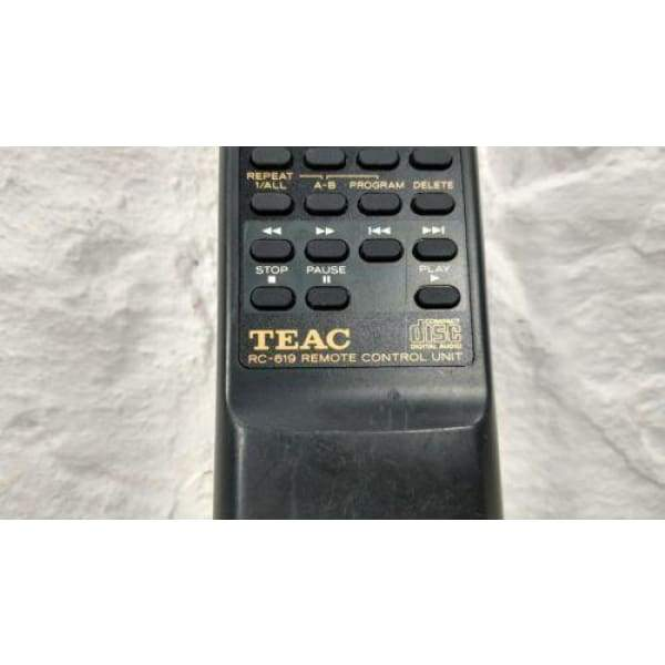 Teac RC-619 CD Player Remote Control - 3E0036500A E01326300A RT3E0036500A - Remote Controls