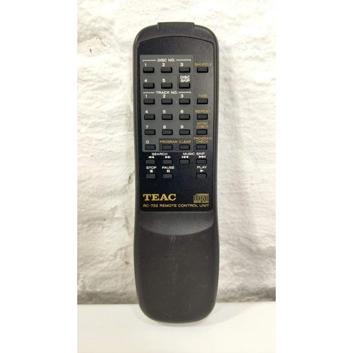 TEAC RC-722 CD Player Remote Control for PD-D2410 PD-D2500 PD-D2750 - Remote Control