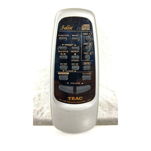 TEAC RC-782 3-Disc CD Player Remote Control - Remote Control